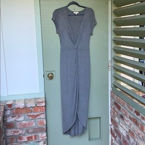 NWOT- ROLLA COSTER- size large gray dress